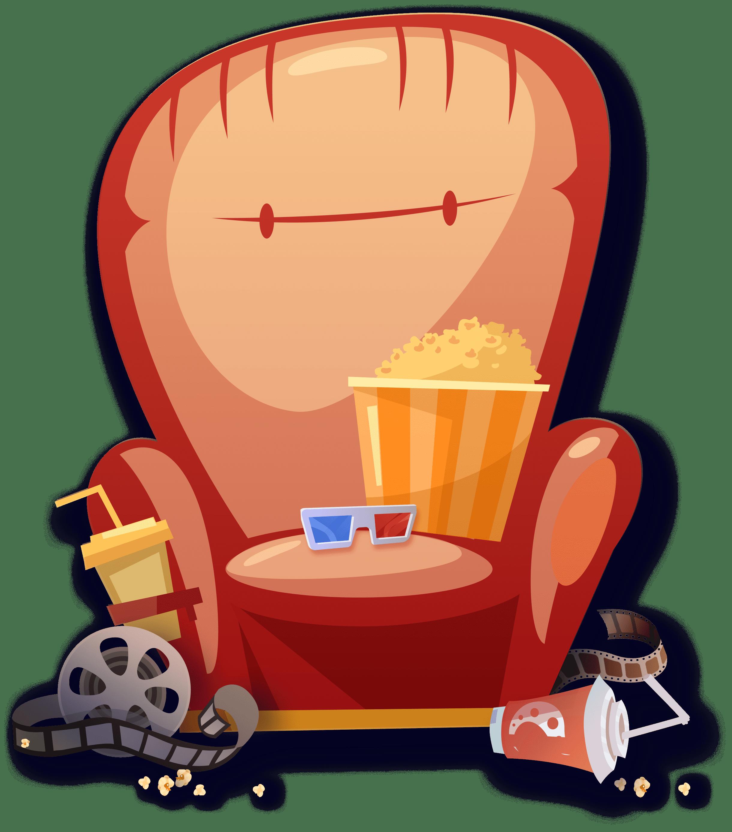 Стул кинотеатра